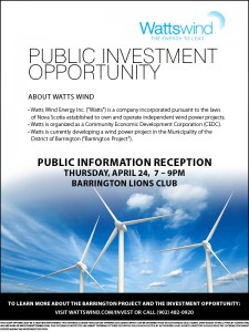 Watts Wind Public Investment Opportunity_24Apr2014